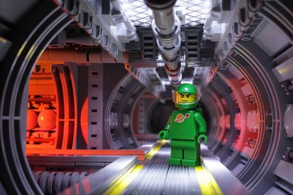 LEGO Space Corridor