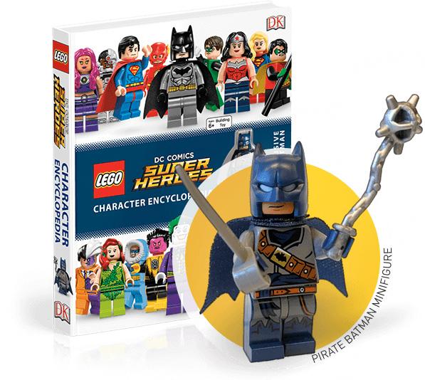 Pirate Batman Buccaneer LEGO DC Comics Super Heroes Character Encyclopedia