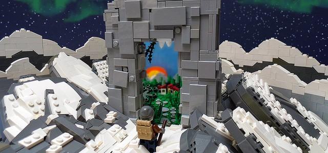 Rømningsvei Porte LEGO