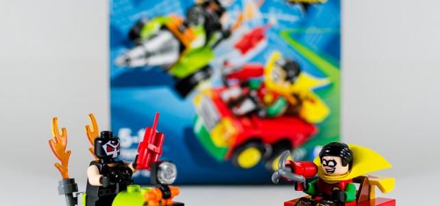 REVIEW LEGO 76062 Mighty Micros Robin vs Bane