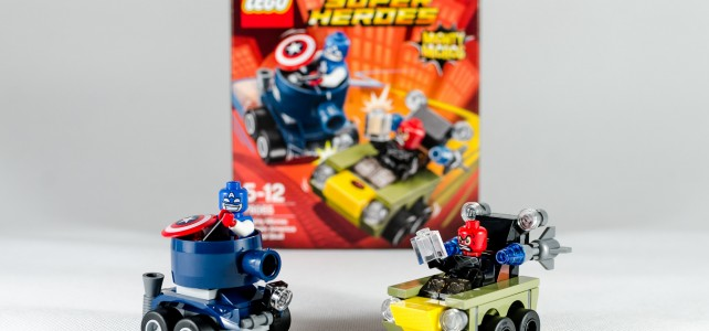 REVIEW LEGO 76065 Mighty Micros Captain America vs Red Skull