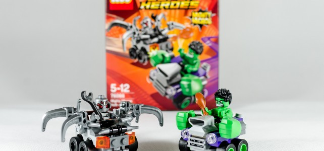 REVIEW LEGO 76066 Mighty Micros Hulk vs Ultron