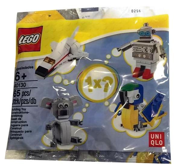 Uniqlo polybag LEGO