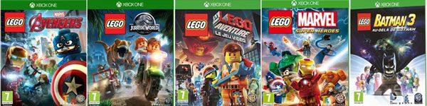 Jeux videos LEGO