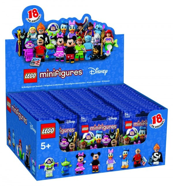 LEGO Disney Collectible Minifigures Box 60