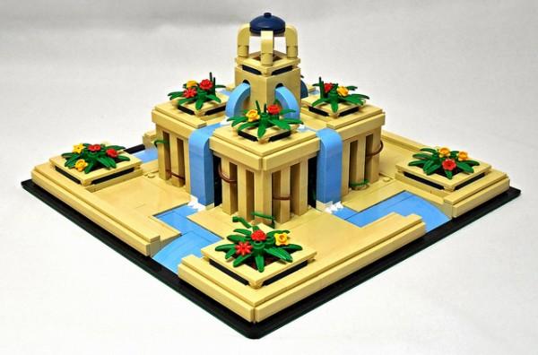 LEGO Jardins suspendus et merveilles du monde