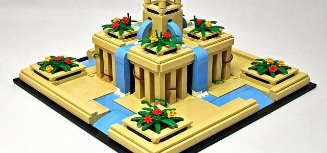 LEGO Jardins suspendus