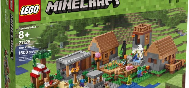 LEGO Minecraft 21128 The Village box
