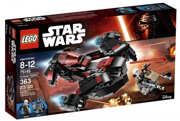 Nouveautés LEGO Star Wars 75145 Eclipse Fighter