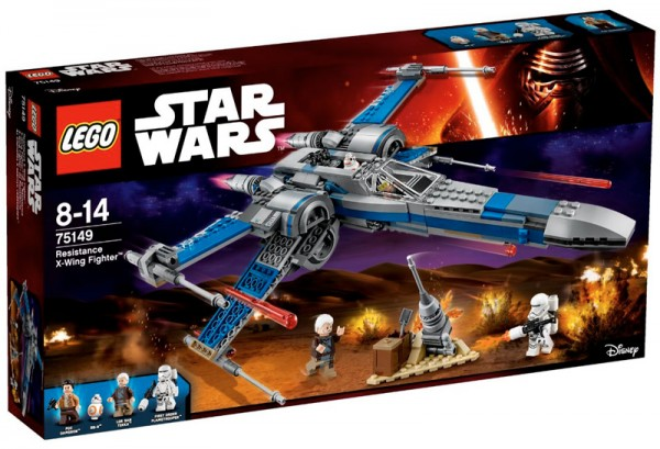 Nouveautés LEGO Star Wars 75149 Resistance X-Wing Fighter