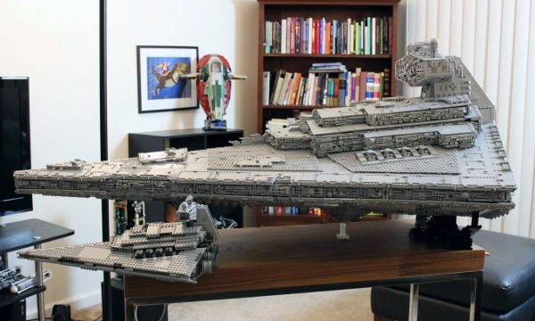 MOC LEGO Star Wars Imperial Star Destroyer Tyrant