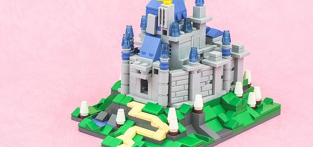 Micro château de Cendrillon