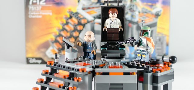 REVIEW LEGO Star Wars 75137 Carbon-Freezing Chamber