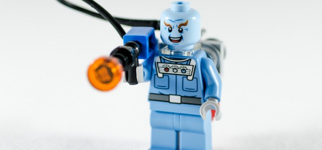 REVIEW polybag Mr Freeze 30603