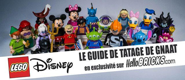 Guide de tatage minifigs LEGO Disney