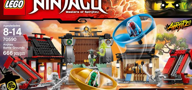 LEGO Ninjago 70590 Airjitzu Battle Grounds