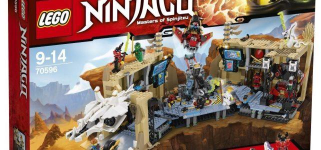 LEGO Ninjago 70596 Samurai X-Cave Chaos : les visuels officiels