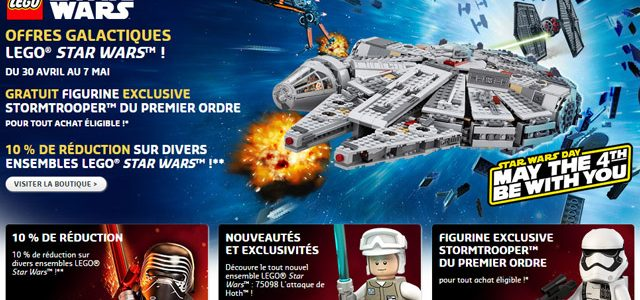 LEGO Star Wars May the fourth