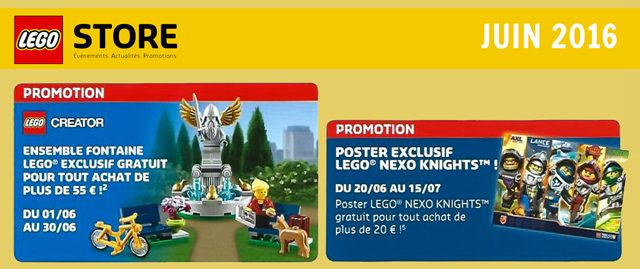 LEGO juin 2016