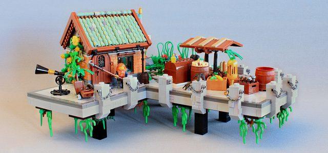 MOC LEGO nouvelle technique pour les toits