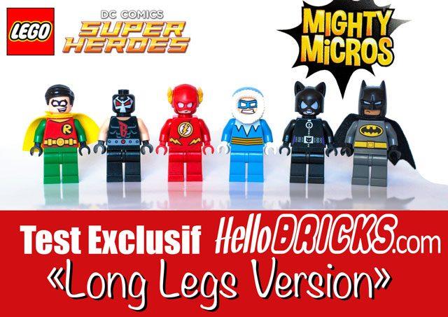 Mighty Micro DC Comics Long legs