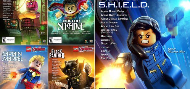 Pack DLC LEGO Marvel Avengers Agents of S.H.I.E.L.D.