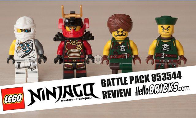 REVIEW LEGO 853544 Battle Pack Ninjago