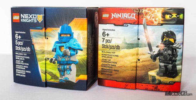 LEGO NINJAGO 5004393 COLE vs LEGO NINJAGO 5004390