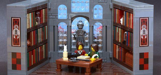 Bibliotheque et perspective