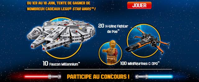 Concours LEGO Fête des Pères