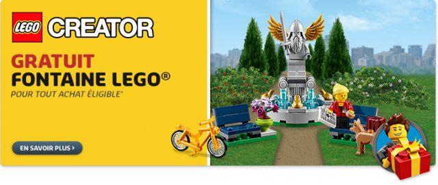 LEGO 40221 fontaine creator