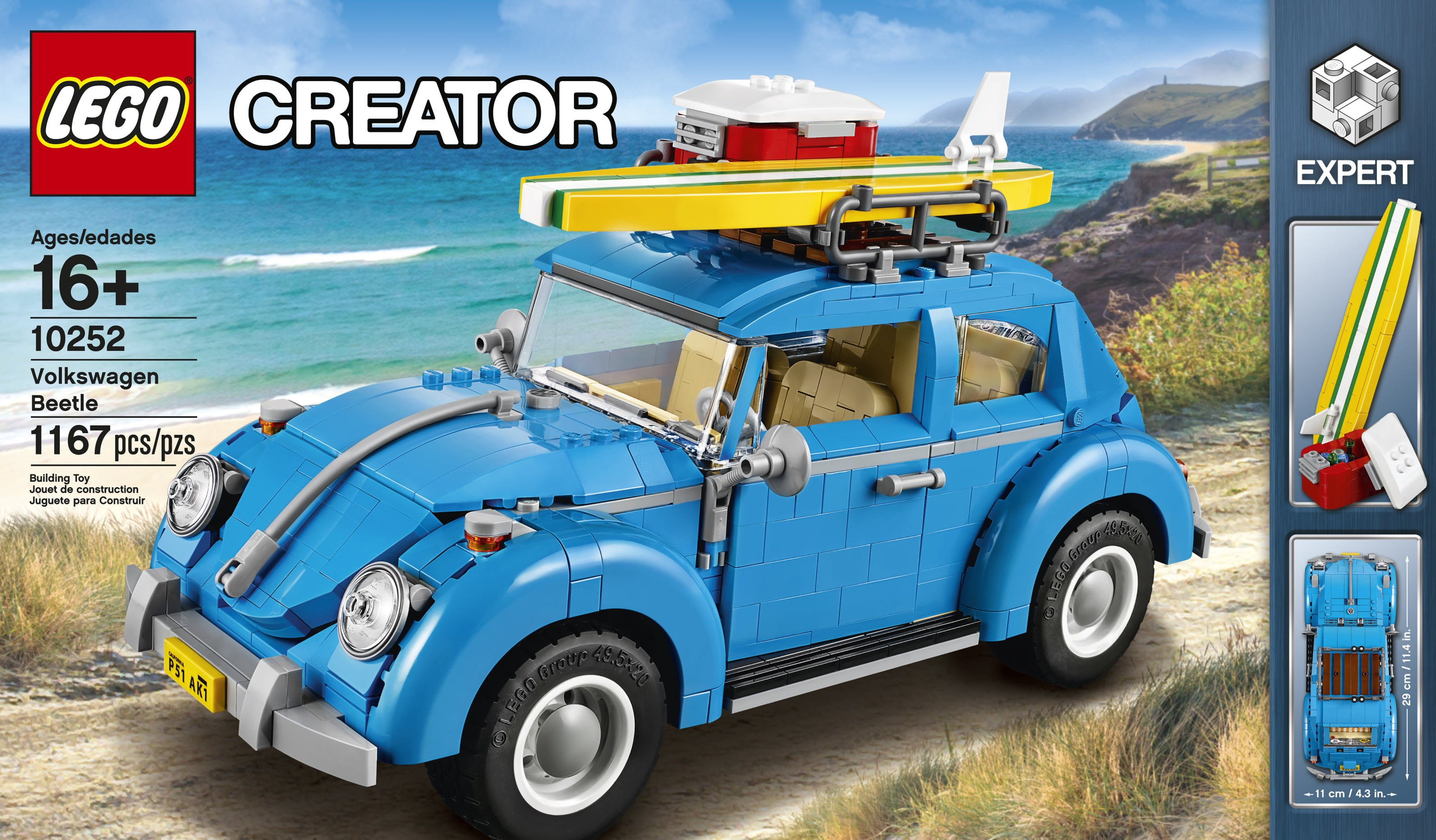 lego creator expert 10252 volkswagen beetle l 39 annonce officielle hellobricks blog lego. Black Bedroom Furniture Sets. Home Design Ideas