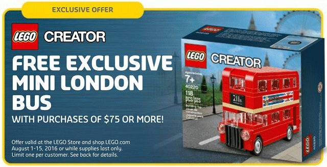 LEGO Creator Mini London Bus