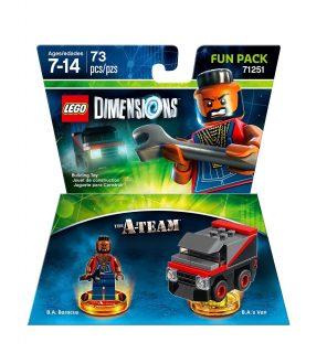 LEGO Dimensions Fun Pack 71251 A-Team box