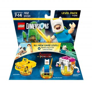 LEGO Dimensions Level Pack 71245 Adventure Time box