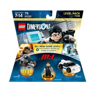 LEGO Dimensions Level Pack 71248 Mission Impossible box
