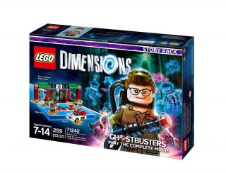 LEGO Dimensions Story Pack 71242 Ghostbusters box