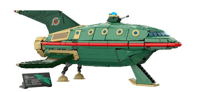 LEGO Futurama UCS Planet Express Ship