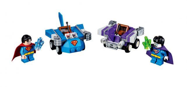 LEGO Super Heroes Mighty Micros DC Comics Superman vs Bizarro