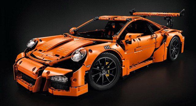 problème Porsche LEGO Technic 42056