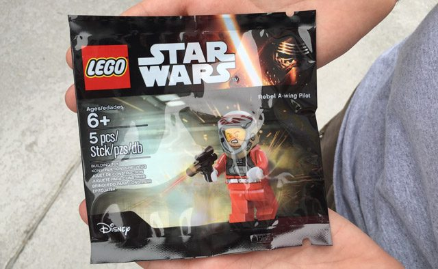 Polybag 5004408 Rebel A-Wing Pilot