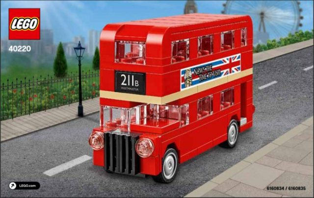Polybag LEGO 40220 London Bus