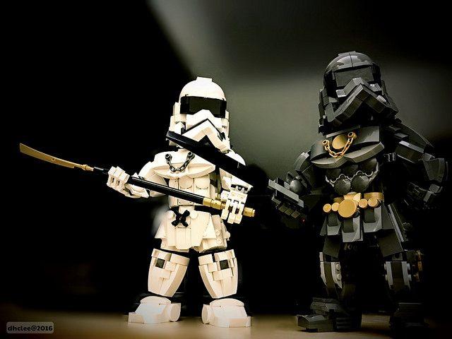 Star Wars First Order Samouraïs