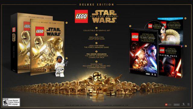 Jeu vidéo LEGO Star Wars The Force Awakens