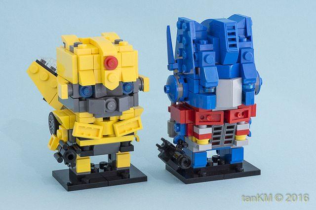 BrickHeadz Transformers