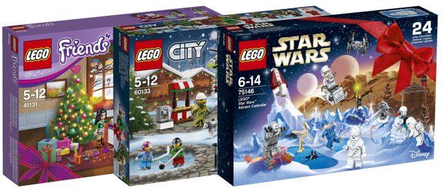Calendrier de l'avent LEGO Advent Calendar