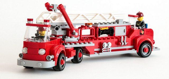 Camion de pompiers LEGO vintage