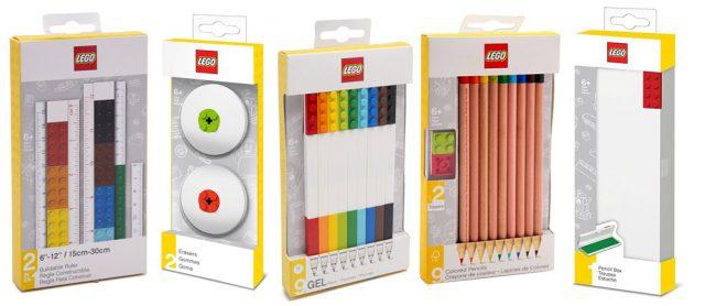 Fournitures scolaires officielles LEGO