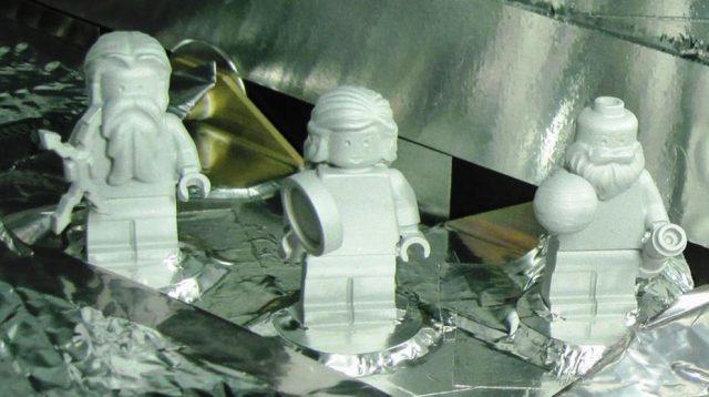 Juno LEGO Nasa minifigures