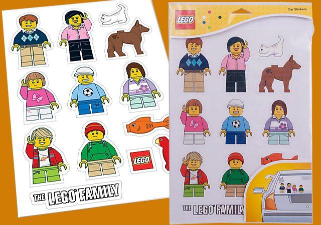 Autocollants LEGO 850794 Car stickers